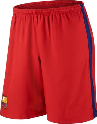 Marex Printed Men's Red Sports Shorts