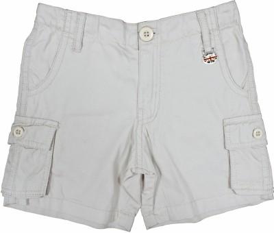 Cub Solid Boy's Beige Basic Shorts