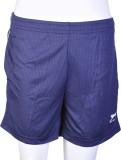 Shiv Naresh Solid Men's Blue Sports Shor...