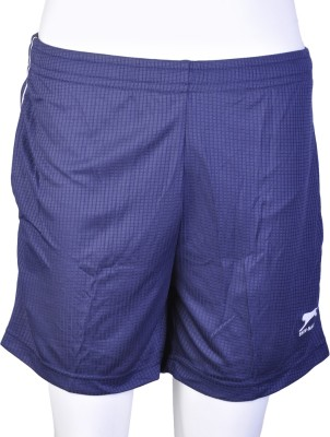 Shiv Naresh Solid Men's Blue Sports Shorts