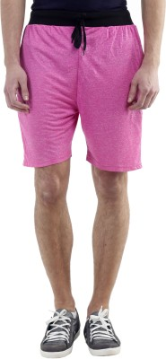 Meebaw Solid Men,s Red, Grey, Pink, Blue, Blue Gym Shorts