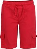 Slub Junior By Inmark Solid Men's Red Ca...
