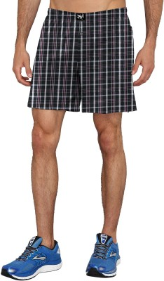 Proplay Woven Men's Multicolor Boxer Shorts