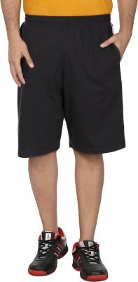 SST Solid Men's Grey Basic Shorts