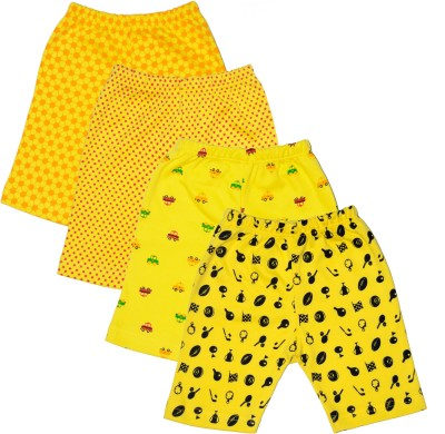 Myfaa Printed Baby Boy's Multicolor Basic Shorts