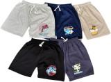 Frang Short For Boys Cotton Linen Blend,...
