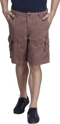 MONTEIL & MUNERO Solid Men's Brown Boxer Shorts