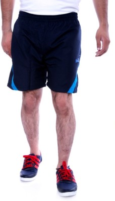 Choice4U Solid Men's Blue Sports Shorts
