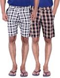 Calloway Checkered Men's Beige, Grey, Wh...