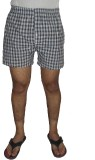 Fashionmandi Checkered Men's Black Boxer...