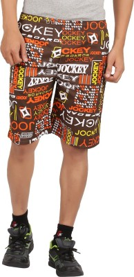 Maks Printed Men's Multicolor Sports Shorts