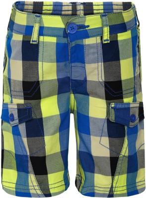 FS Mini Klub Woven Boy's Multicolor Basic Shorts