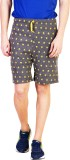 Bexter Printed Men's Grey Bermuda Shorts