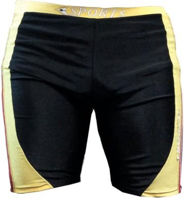 Tab Printed Men's Multicolor Swim Shorts