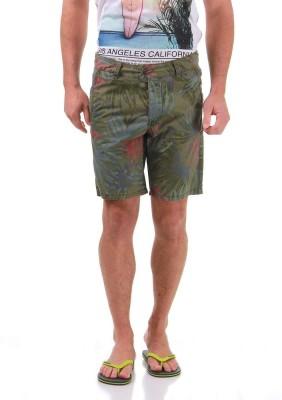 Jack & Jones Printed Men's Denim Green Denim Shorts