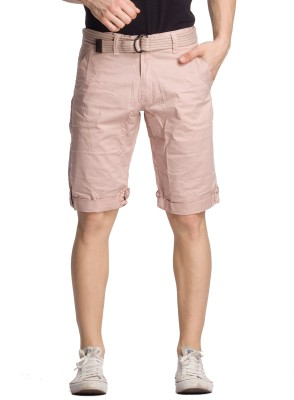 Bodymark Solid Men's Pink Basic Shorts