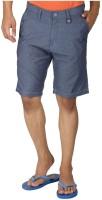 Killer Men's Wear - Killer Printed Men's Blue Basic Shorts