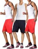 RIPR Solid Men's Multicolor Sports Short...