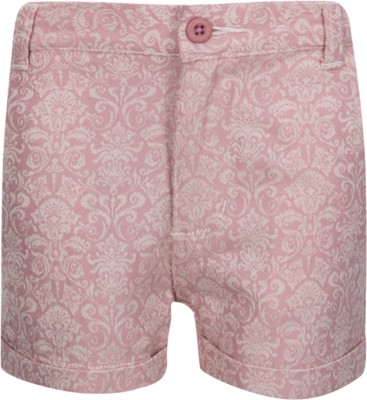 Miss Alibi by Inmark Printed Girl's Pink Basic Shorts