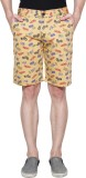 Ansh Fashion Wear Printed Men's Multicol...