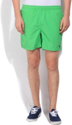 Gant Solid Men's Green Basic Shorts