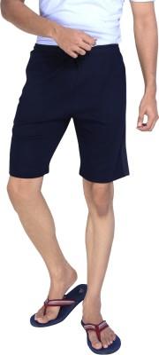 Allocate Solid Men's Dark Blue Gym Shorts, Night Shorts, Running Shorts, Sports Shorts
