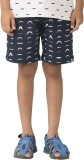 Bluebuck Short For Boys Cotton (Dark Blu...