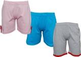 Little Stars Short For Girls Cotton Line...