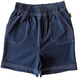 Tiny Bee Short For Boys Cotton Linen Ble...