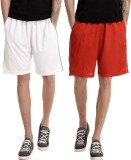 Dee Mannequin Solid Men's White, Red Bas...