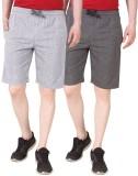 Nicewear Solid Men's Grey, Grey Basic Sh...