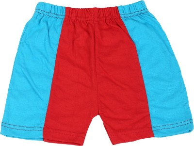 Rishan Solid Baby Boy's Red, Blue Basic Shorts