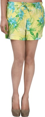 ShopperTree Printed Women's Multicolor Basic Shorts