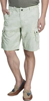 MONTEIL & MUNERO Solid Men's Green Boxer Shorts