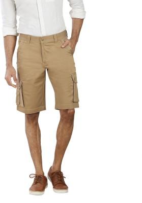 Pecos Bill Solid Men's Multicolor Cargo Shorts