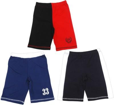 Gkidz Printed Boy's Multicolor Basic Shorts