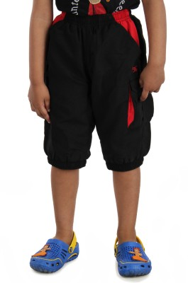 Dazzgear Solid Girl's Black Basic Shorts