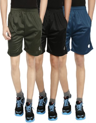 Custom Creation Solid Men's Multicolor Gym Shorts, Basic Shorts
