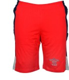 Point Sevan Embroidered Men's Red Sports...