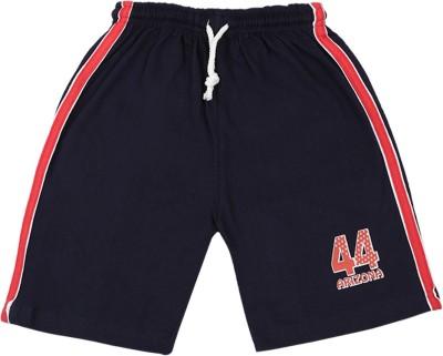 Rishan Solid Boy's Black Basic Shorts