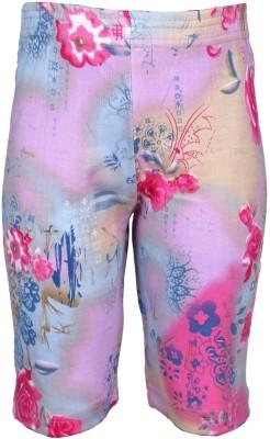 JG Fashion Printed Women's Pink Cycling Shorts