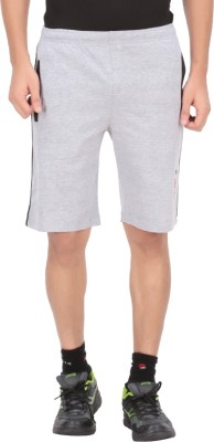 Indian Engineer Solid Men's Grey, Black Basic Shorts