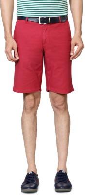 Allen Solly Solid Men's Pink Basic Shorts