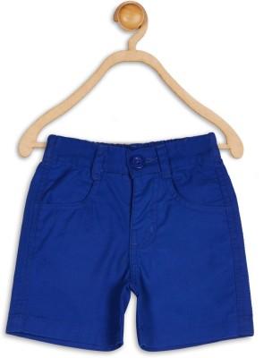 612 League Solid Baby Boy's Blue Basic Shorts