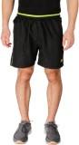 Vector X Solid Men's Black Sports Shorts