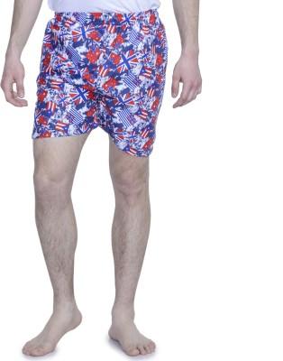 ALIGATORR Graphic Print Men's Multicolor Night Shorts