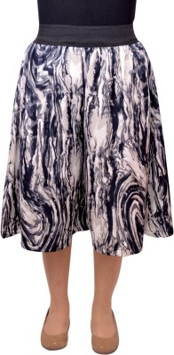 V3ishop Graphic Print Women's Grey Culotte Shorts