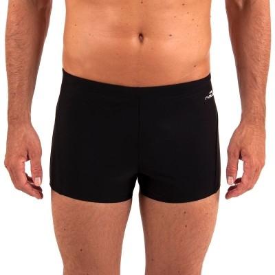 Nabaiji Solid Men's Black Swim Shorts