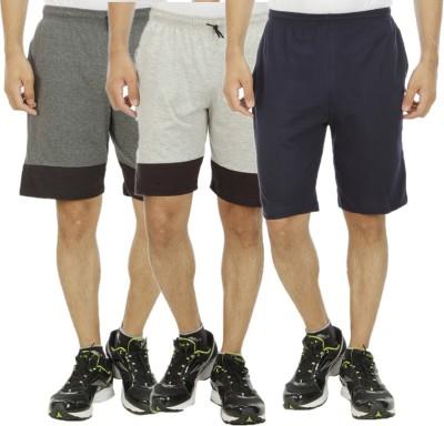 Hardys Solid Men's Multicolor Sports Shorts