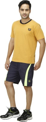 1OAK Solid Men's Dark Blue Sports Shorts